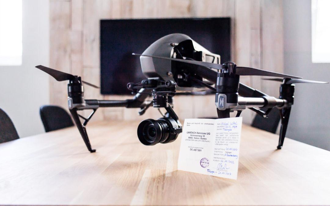 Warum der Drohnenführerschein jetzt Pflicht ist …