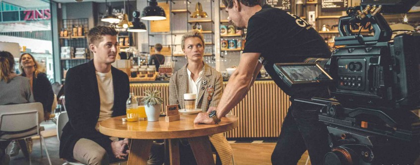 Werbefilm für die neue Zinser App