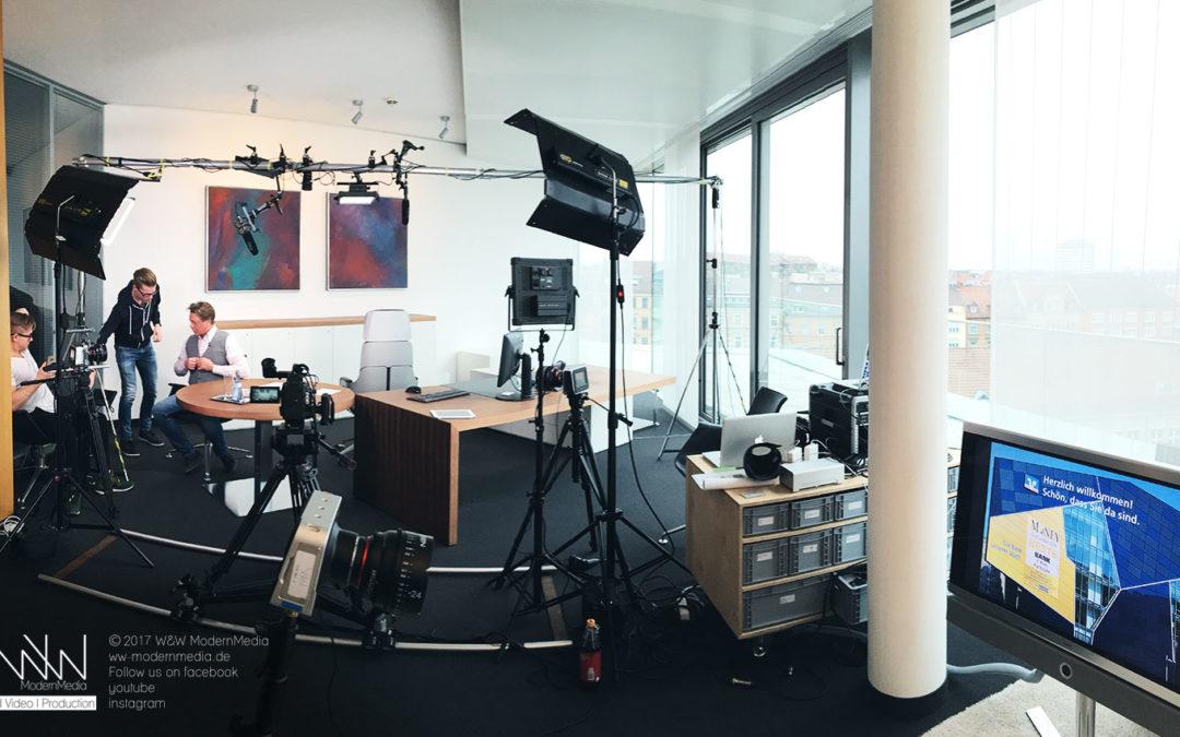 Schulungsfilme für die Volksbank Karlsruhe