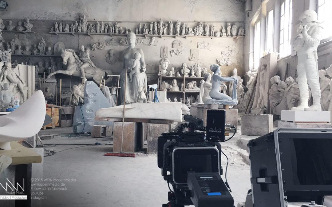 Zweitägige Shootingreise nach Italien für die L'OFFICIEL und FACTICE MAGAZINE – Teil 1