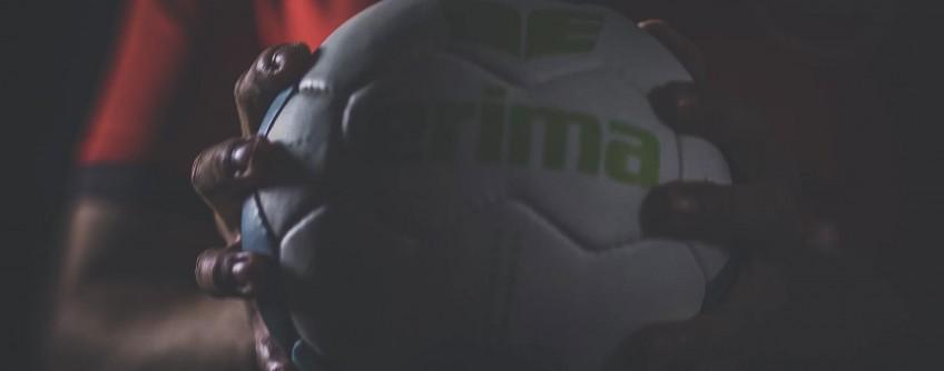 Vorstellung des neuen Trikots der Handballbundesligamannschaft MT Melsungen