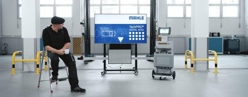 Produktfilm eines Kalibrierungssystems von MAHLE